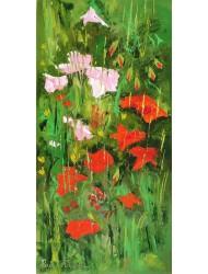 Fleurs des champs dans la nature