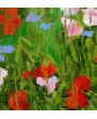 Wildflowers in nature - Triptych