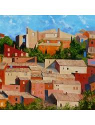 Roussillon, facades