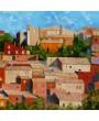 Façades à Roussillon