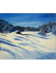 Snow in Courchevel