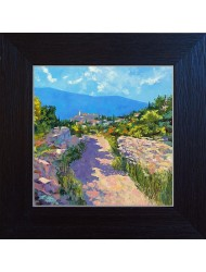 Landscape from Gordes N°1