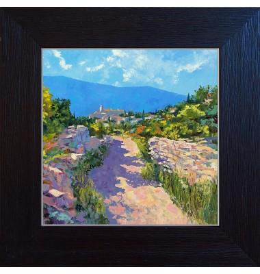 Landscape from Gordes N°1