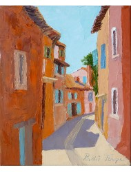 Small street in Roussillon
