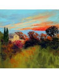 Răsărit de soare în Provence