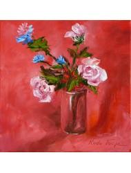 Roses et chicorées