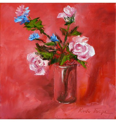 Roses and chicory