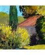 Mas en automne en Provence