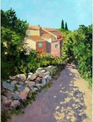 Alee umbroasă lânga Roussillon