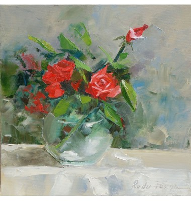 Roses in a vase N° 3