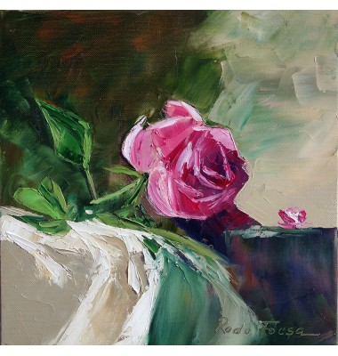 Red rose, study