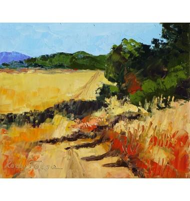 Achetez Paysage D Automne Peinture Par Radu Focsa Artiste Peintre Chez Artiste Provence Gallery