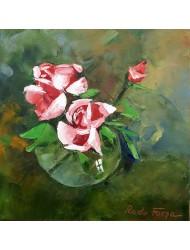 Roses in a vase N° 2
