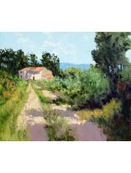 Old farm near Roussillon